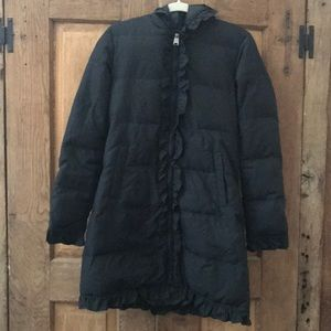 Via Spiga Hooded Puffer Coat